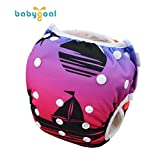 babygoal Reusable Swim Diaper, One Size Adjustable