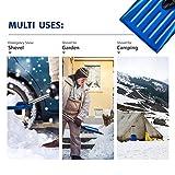 ORIENTOOLS Emergency Snow Shovel Suitable for Car