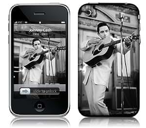 MusicSkins, MS-JC30001, Johnny Cash - Guitar, iPhone 2G/3G/3GS, Skin