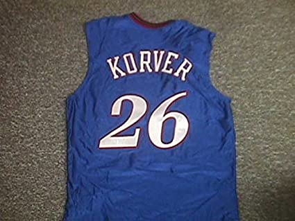 8860747f987 Image Unavailable. Image not available for. Color: Kyle Korver Philadelphia  76ers Blue Alternate Game Jersey
