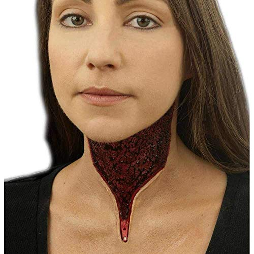 Woochie Classic Latex Appliances - Professional Quality Halloween Costume Makeup - Zip It ()