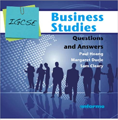 igcse business studies questions and answers paul hoang margaret
