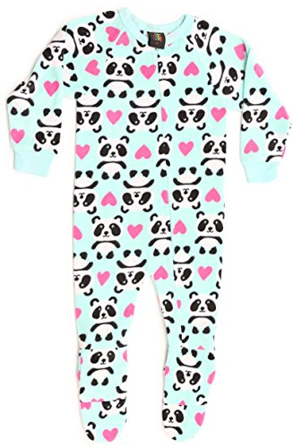 Sleeper Panda (95599-4-12MO Just Love Footed Pajamas / Micro Fleece Blanket Sleepers, Panda)