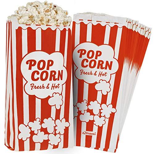Paper Popcorn Bags 2oz 11 X 5 X 3