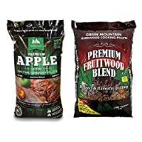 Green Mountain Grills Premium Apple 100% Pure Hardwood Grilling Cooking PelletsGreen Mountain Grills Premium Fruitwood Pure Hardwood Grilling Cooking Pellets made by  epic Green Mountain Grills