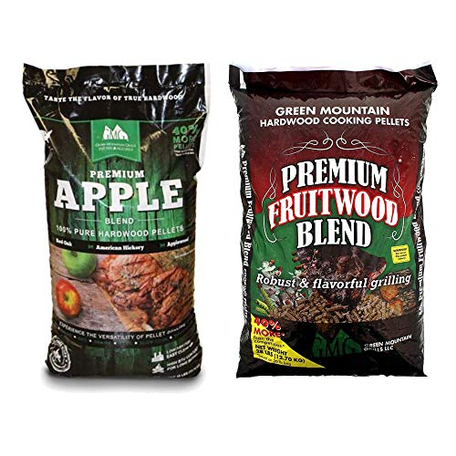Green Mountain Grills Premium Apple 100% Pure Hardwood Grill