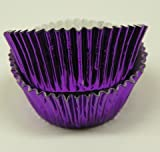 Jubilee Sweet Arts Purple Foil Baking Cup, Standard Size