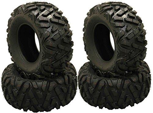 Set of 4 WANDA ATV Tires AT 27x10-12 /6PR P350 - 10170 by Wanda