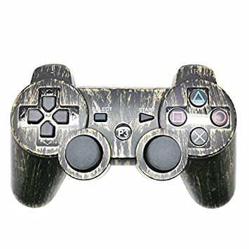 Controlador PS3 Gamepad Bluetooth para PS3, Joystick Remoto Gamepad inalámbrico con Dualshock Conection Bluetooth para