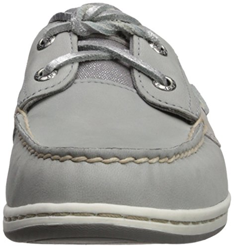 Us Top Women's Sperry Medium Koifish sider Shoe Boat Grey Sparkle 7 OvqqSEwx
