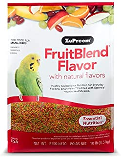 product image for ZuPreem FruitBlend Flavor Pellets Bird Food for Small Birds - Powerful Pellets Made in USA, Naturally Flavored for Parakeets, Budgies, Parrotlets