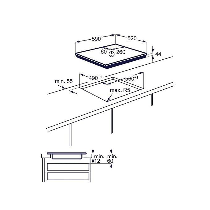 Electrolux EIS 64383 - Vitrocerámica de inducción (60 cm ...