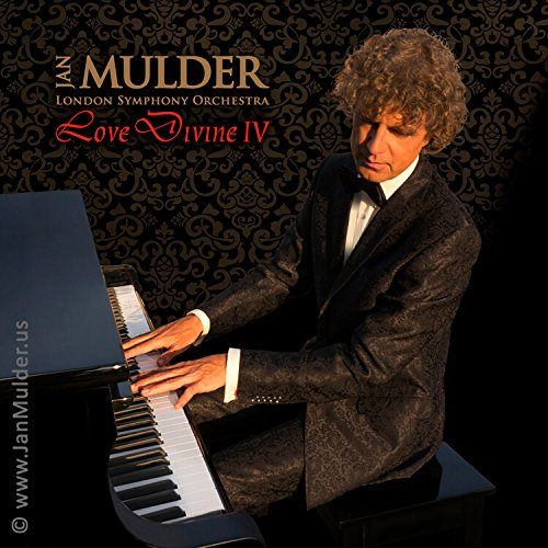 Love Divine 4: instrumental sacred music CD by pianist Mulder & London Symphony Orchestra (In Christ Alone, Come Thou fount, Above All - composed by Michael W. Smith, All is well, and others) by AMI Records