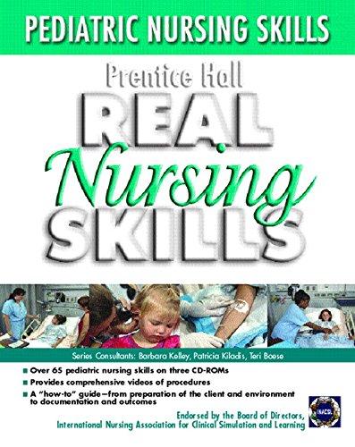 Prentice Hall Real Nursing Skills: Pediatrics 3/CD Set