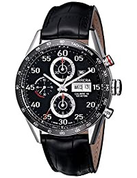 TAG Heuer Men's Carrera Automatic Chronograph Day-Date Watch CV2A10.FC6235