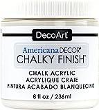 Americana Décor Acrylic Chalky Finish Paint: Everlasting White, 8 oz