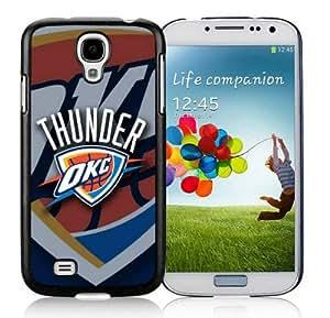 Top Samsung Galaxy S4 Cover with NBA Oklahoma City Thunder Cell Phone Protector