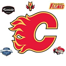 Fathead 64-64007 Wall Decal, Calgary Flames Logo