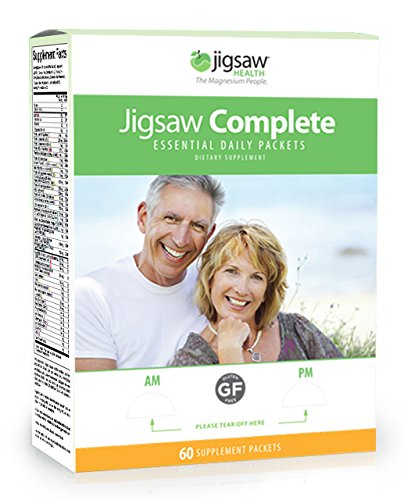 Jigsaw Health Complete Essential Multivitamin Supplement Daily Packets, 60 Count