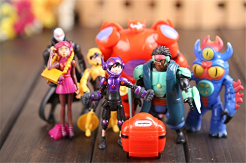 Pack of 7 pieces Big Hero 6 series action figure doll