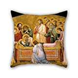 The Oil Painting Giotto - The Entombment Of Mary Throw Pillow Case Of - Best Reviews Guide