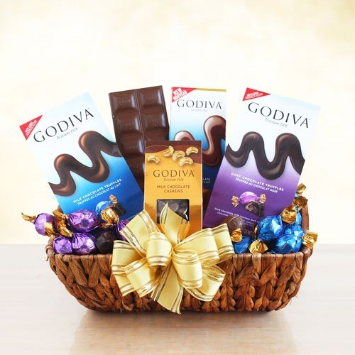 The Godiva Sampler by GiftBaskets from GiftBaskets