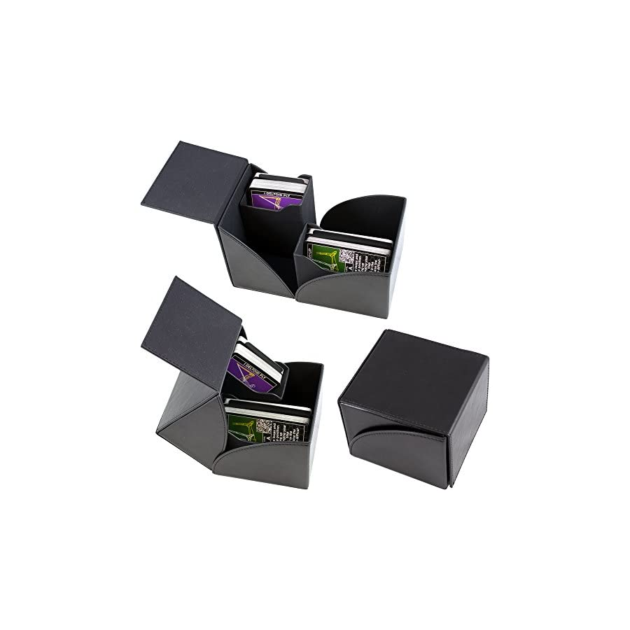 Stack 52 Exercise Card Gift Box Set. Dumbbell, Kettlebell, Resistance Band, and Suspension Workout Card Games. Video Instructions Included. Fun Home Gym Fitness Training Program.