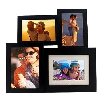 Amazoncom Pandigital 60 Inch Digital Picture Frame Wblack Wood