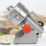 MXBAOHENG DFY-500C Chinese Herbal Medicine Grinder 500g Electric Milling Machine Swing Herb Grinder (110V)