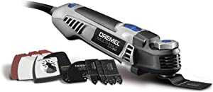 Dremel MM50-DR-RT Multi-Max 5 Amp Tool-Less Oscillating Tool Kit with Accessory Set (Renewed)