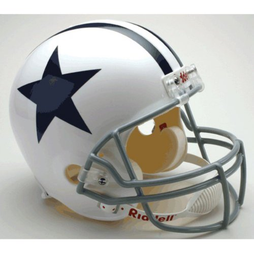 Riddell Dallas Cowboys Deluxe Replica Helmet ()
