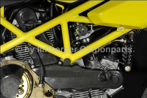 ILMBERGER(イルムバーガー) :Ducati 1100Monster/Hypermotard/Multistrada用 カムベルトカバー DSエンジン 横   B004OB6HCQ
