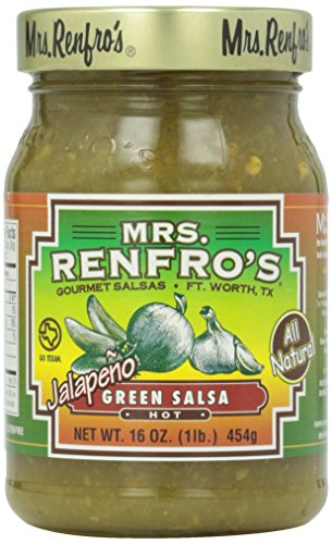 Mrs. Renfro's Hot Green Jalapeno Salsa, 16 oz ()