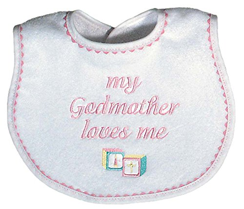 Raindrops My Godmother Loves Me Embroidered