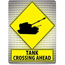 TANK Street metal Sign art Call Of Duty army plaque / funny boys video game room mancave retro wall decor 237