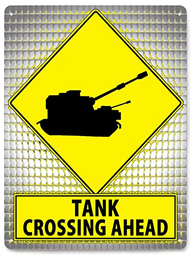 Amazon.com : TANK Street metal Sign art Call Of Duty army plaque ...