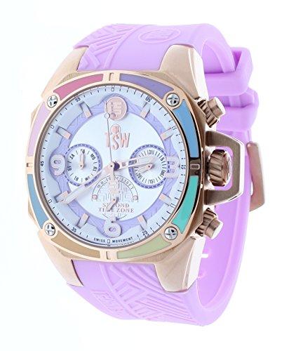 Technosport (TSW) TS-100-LIFES39 Women's Watch Light Pink Strap Swiss Multifunction Movement