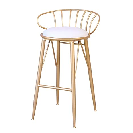Enjoyable Amazon Com High Stool With Backrest Bar Stool Dining Unemploymentrelief Wooden Chair Designs For Living Room Unemploymentrelieforg