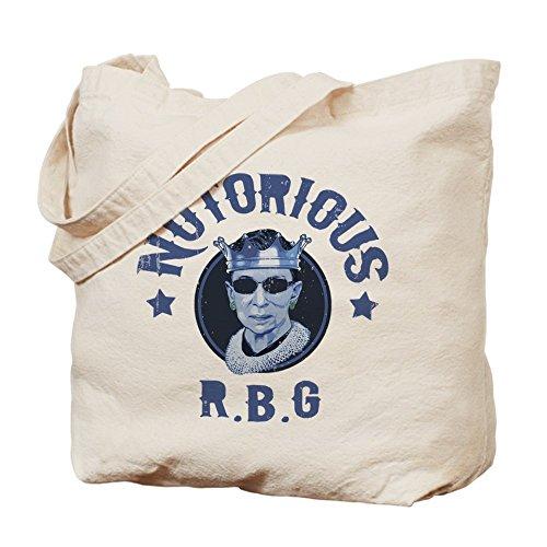Cafepress–Notorious RBG III–Borsa di tela naturale, tessuto in iuta
