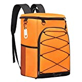 SEEHONOR Insulated Cooler Backpack Leakproof Soft Cooler Bag Lightweight Backpack Cooler for Lunch