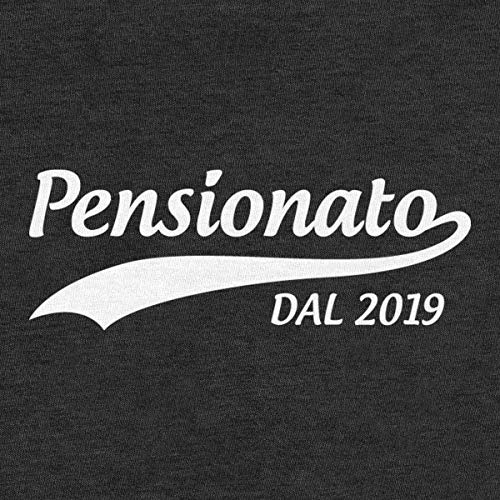 2019 Pensione Pensionato Shirtgeil Uomo Maglietta Annuncio Dal Grigio Da Regalo WpEnnBFS