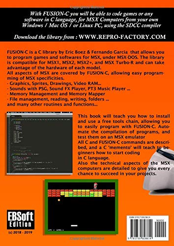 FUSION-C: MSX C Library complete journey : Amazon ca: ERIC BOEZ