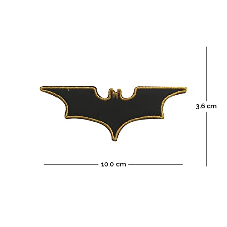 685af821668d New Batman Logo Embroidered Patch Iron On or Sew On Super Heroes(401)   Amazon.co.uk  Kitchen   Home