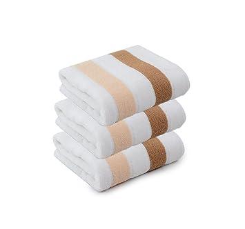 DGS 3 Toallas de algodón, baño, baño, Familia, Tomar, un baño