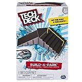 Tech Deck 20078799 Build-A-Park - Kicker to 6 Stair Rail (Grey/Black)