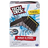 Tech Deck 20078799  - Build-A-Park - Kicker To 6 Stair Rail (Grey/Black) Customize Your Park By Building It Your Way!, Multi