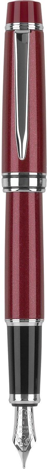 Pilot Stargazer Pearl Lacquer Fountain Pen with Rhodium Accents, Fine Nib, Ruby Red Finish (60962)