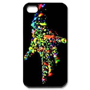 Iphone 4,4S Creative Phone Back Case DIY Art Print Design Hard Shell Protection FG028986