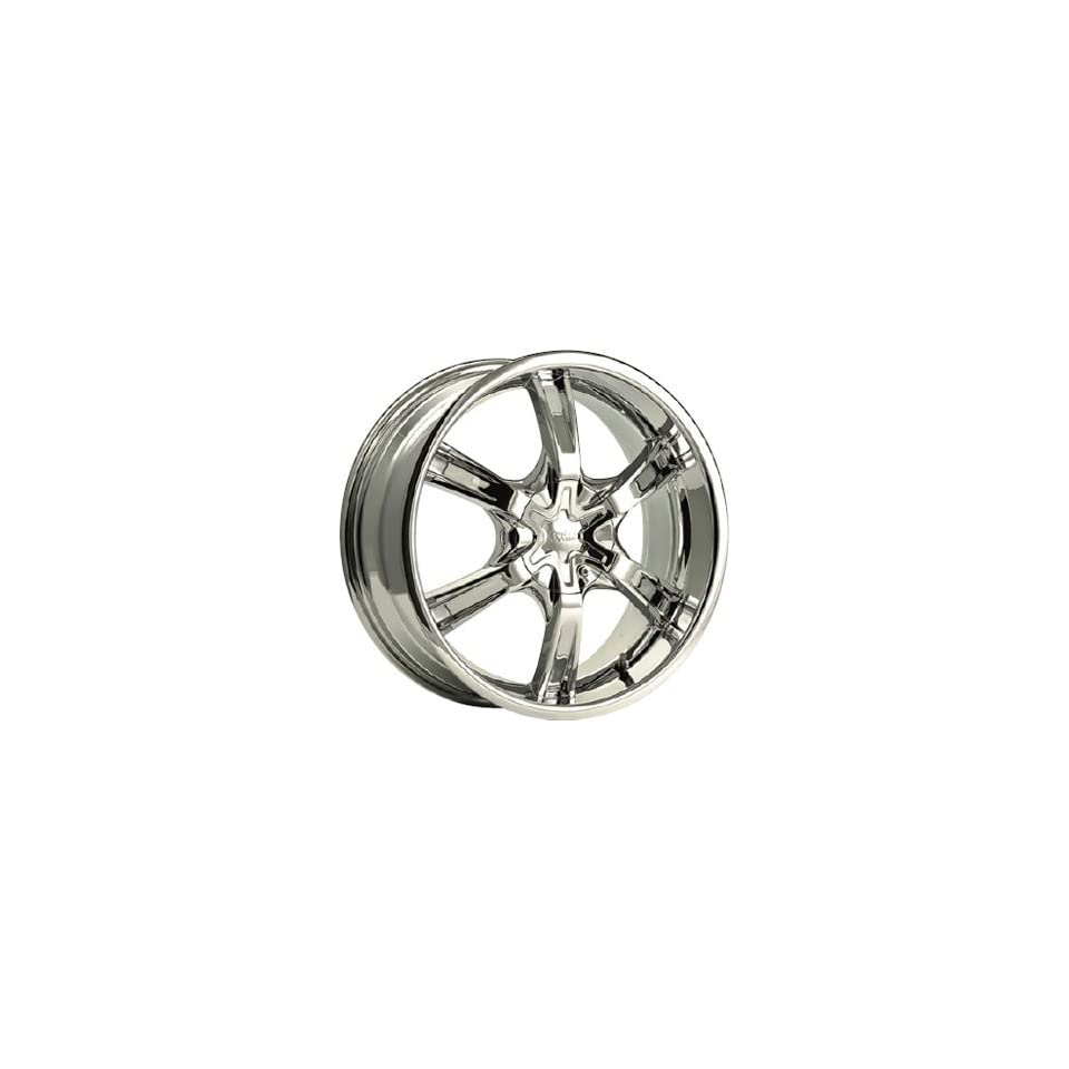 Cruiser Alloy Magneto 18x7.5 Chrome Wheel / Rim 5x100 & 5x4.5 with a 42mm Offset and a 73.00 Hub Bore. Partnumber 907C 8751842