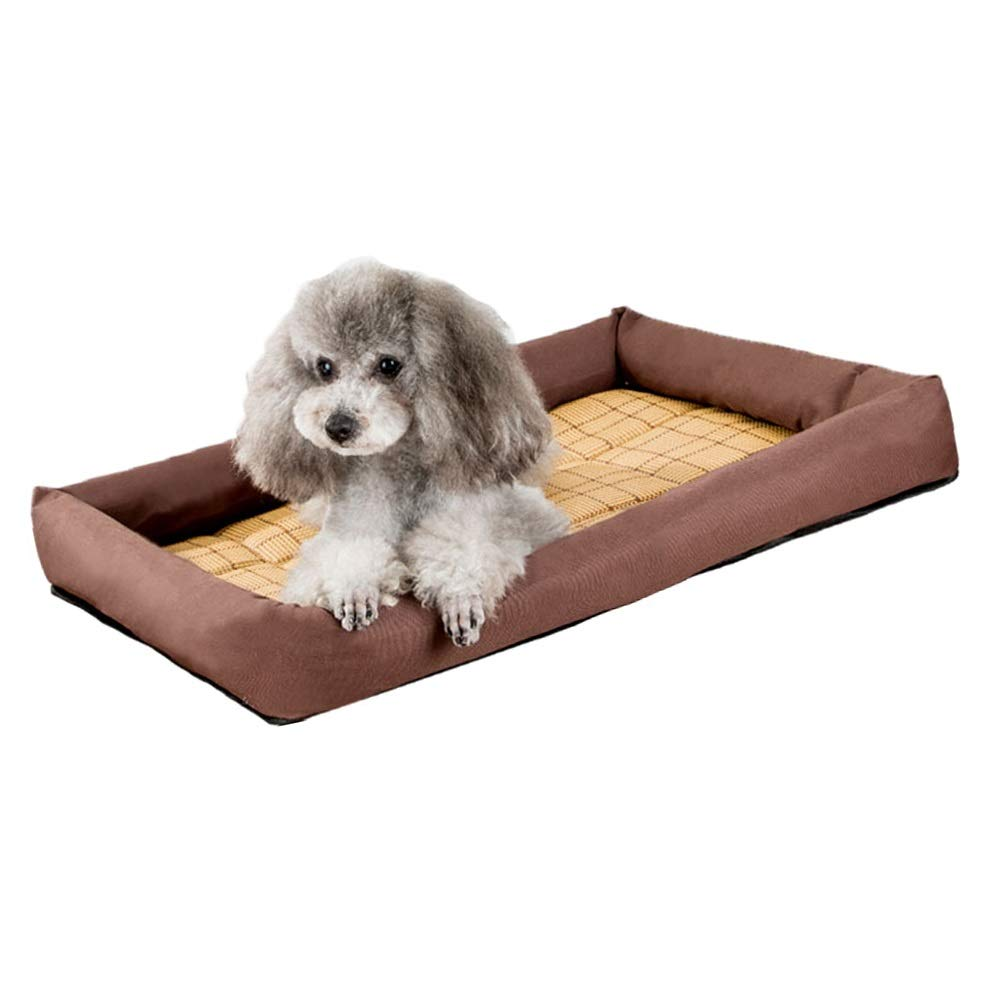 1001XL Pet Bed, Kennel Spring and Summer Mats  Small Dog Dog Bed Cat Litter All Washable Cool Breathable WearResistant Bite (color   1005S)